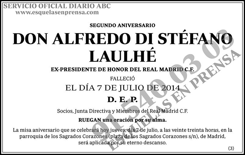 Alfredo Di Stéfano Laulhé